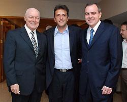 Gustavo Ick Sergio Massa y Nestor Ick